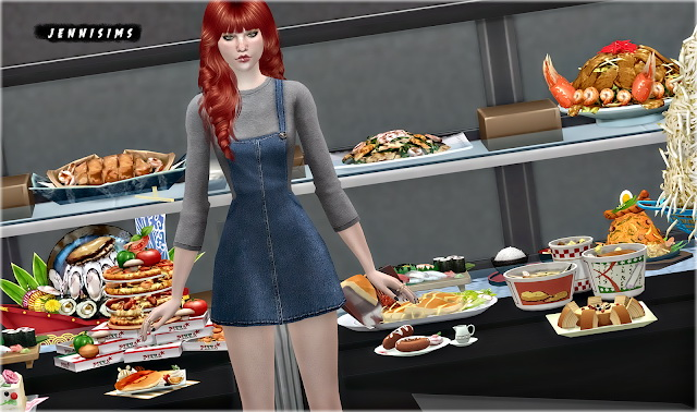 Decorative Food Pack 20 Items at Jenni Sims image 1464 Sims 4 Updates