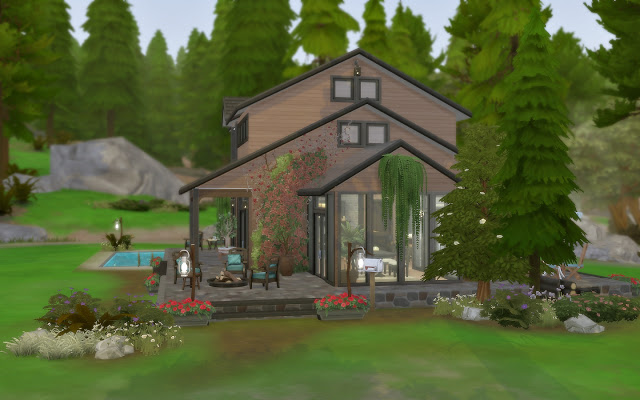 House 58   Cabin at Via Sims image 1465 Sims 4 Updates
