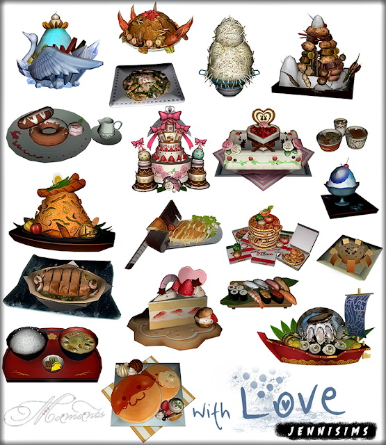 Decorative Food Pack 20 Items at Jenni Sims image 1474 Sims 4 Updates