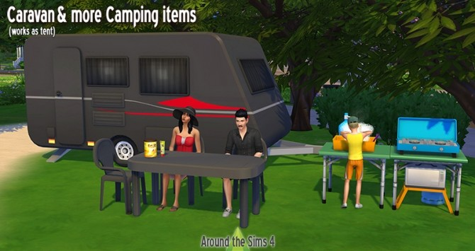 Sims 4 Camping & Caravane at Around the Sims 4