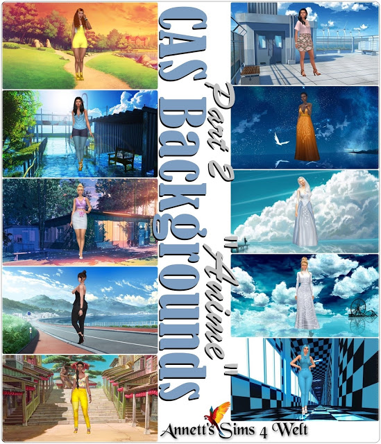 CAS Backgrounds Anime Part 2 at Annett's Sims 4 Welt image 1491 Sims 4 Updates