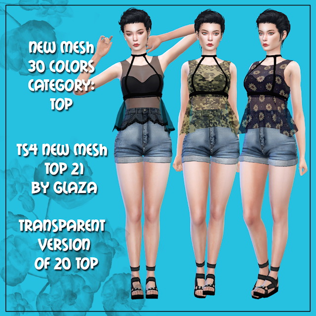 Top 21 at All by Glaza image 1498 Sims 4 Updates