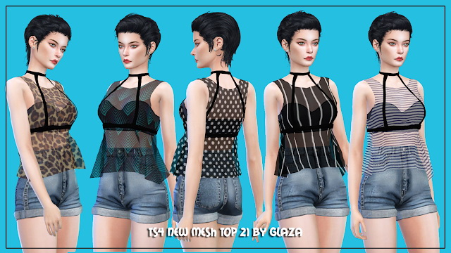 Top 21 at All by Glaza image 15114 Sims 4 Updates