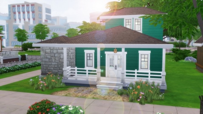 Sims 4 Spring starter by SundaySims at Sims Artists
