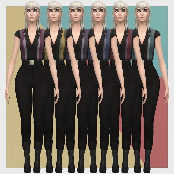 Sims 4 Vintage Capri Set at Busted Pixels