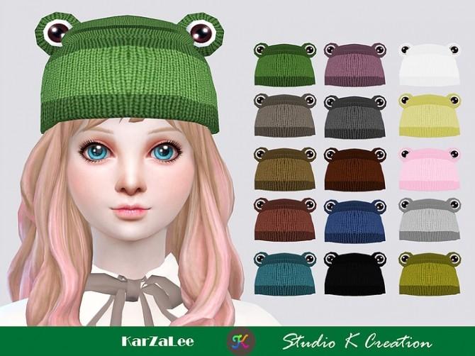 Sims 4 Frog Hat at Studio K Creation