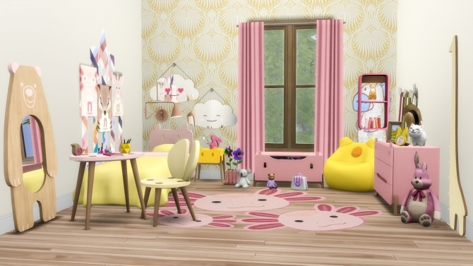 Roarsome Kids Bedroom 30 New items at Simsational Designs image 1601 670x377 Sims 4 Updates