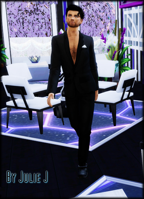 EF11 Male Suit Edited at Julietoon – Julie J image 1635 Sims 4 Updates