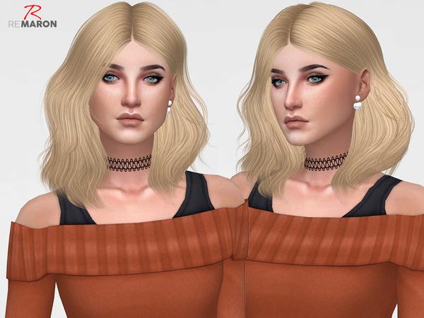 Naira Hair Retexture by remaron at TSR image 1638 Sims 4 Updates