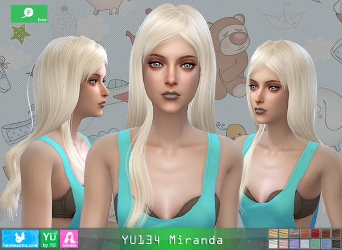 YU134 Miranda hair at Newsea Sims 4 image 1651 670x491 Sims 4 Updates
