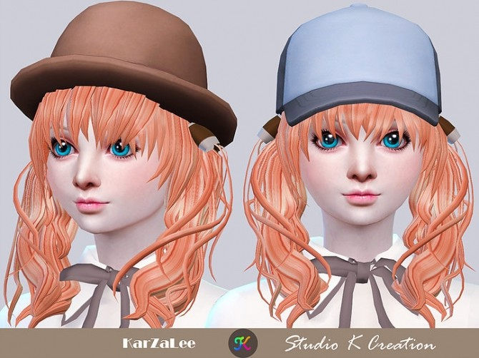 Animate hair 76 Maiko at Studio K Creation image 1654 670x502 Sims 4 Updates