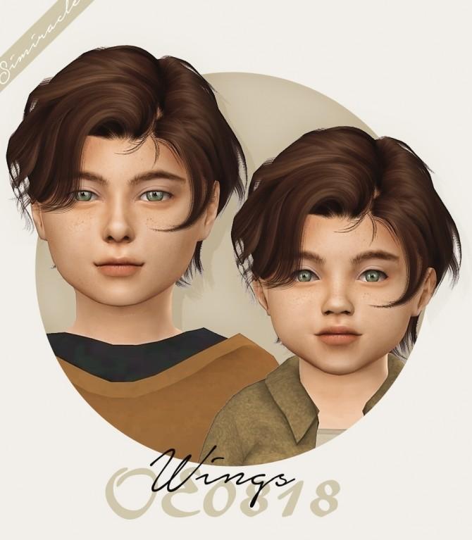 Sims 4 Wings OE0818 hair conversion at Simiracle