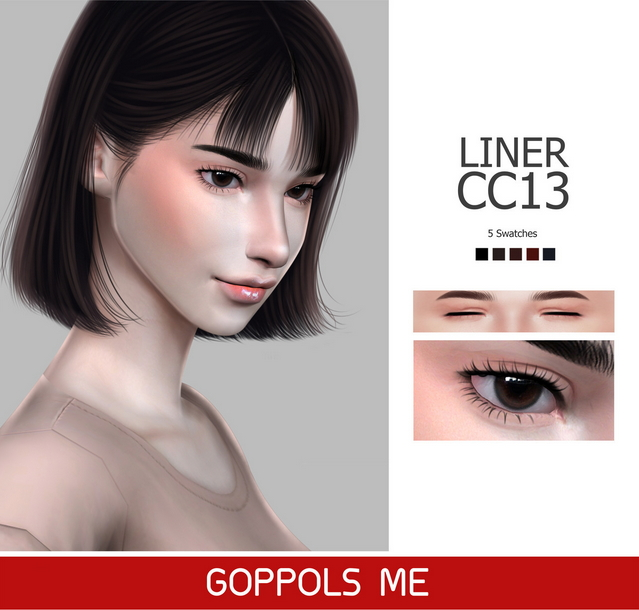 Sims 4 GPME Liner cc13 at GOPPOLS Me