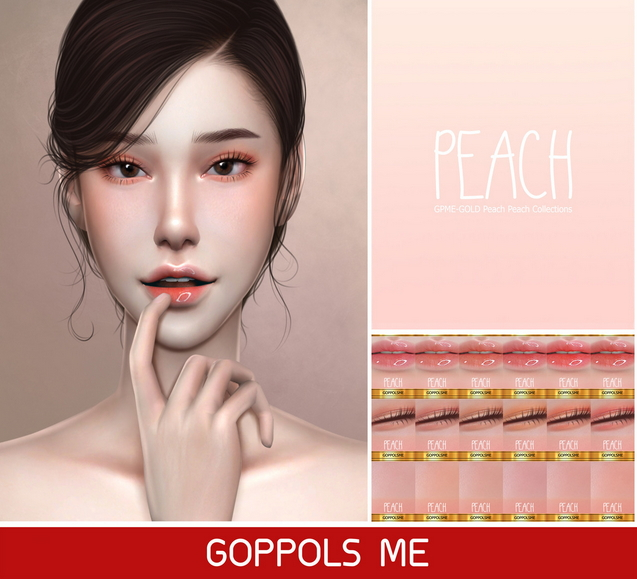 Peach Peach Collections at GOPPOLS Me image 1691 Sims 4 Updates