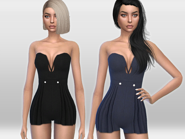 Chic Romper by Puresim at TSR image 1714 Sims 4 Updates