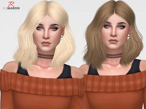 Naira Hair Retexture by remaron at TSR image 1738 Sims 4 Updates
