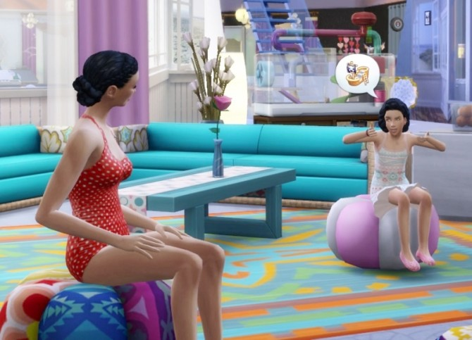 Sims 4 Shield's MidCurls hair at Birksches Sims Blog