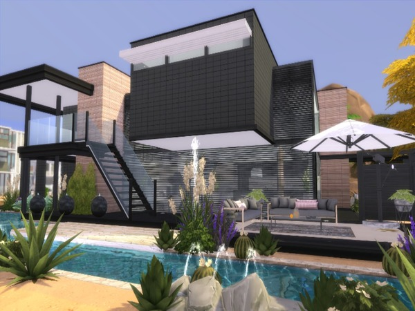 Calico modern home by Suzz86 at TSR image 1802 Sims 4 Updates
