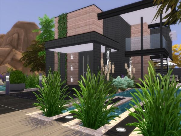 Calico modern home by Suzz86 at TSR image 1816 Sims 4 Updates