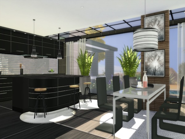 Calico modern home by Suzz86 at TSR image 1822 Sims 4 Updates