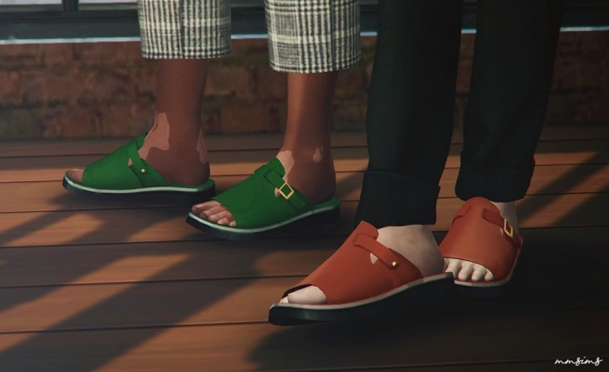 Single strap sandal at MMSIMS image 1861 670x409 Sims 4 Updates