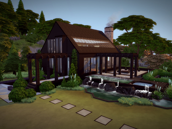 Svarta house NO CC by melcastro91 at TSR image 187 Sims 4 Updates