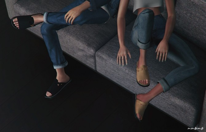 Single strap sandal at MMSIMS image 189 670x429 Sims 4 Updates