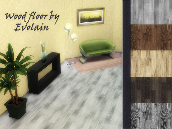 Wood floor laminate by Evolain at TSR image 190 Sims 4 Updates