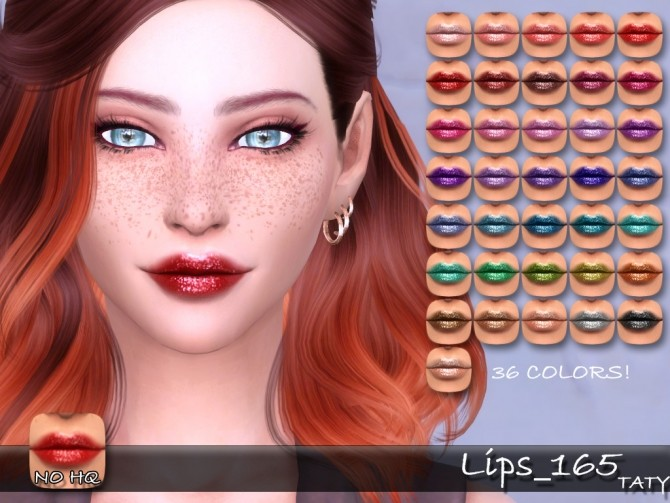 Sims 4 Lips 165 at Taty – Eámanë Palantír