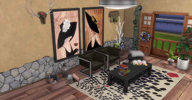 Lorraine Wood Paintings at Annett's Sims 4 Welt image 195 1 Sims 4 Updates