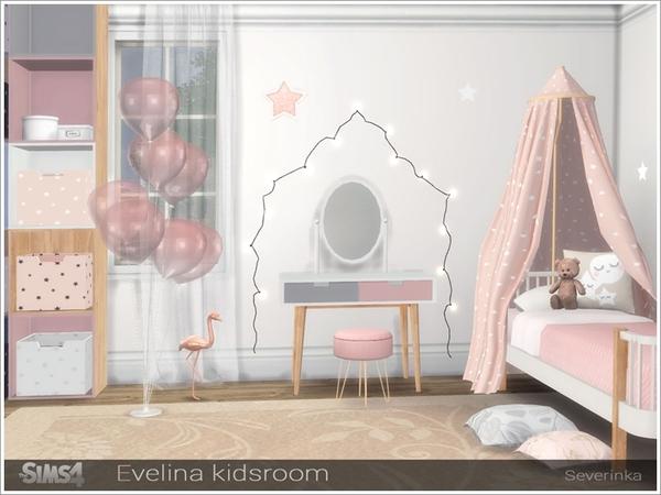 Evelina kidsroom by Severinka at TSR image 2018 Sims 4 Updates