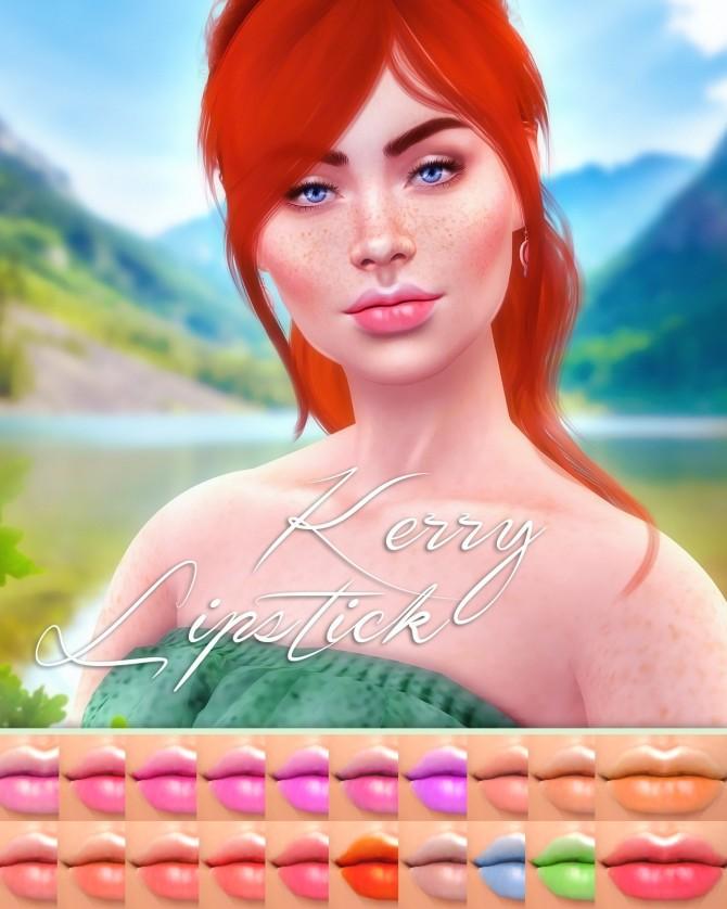Sims 4 Kerry Lipstick at Katverse