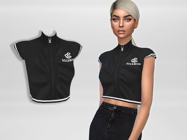 Active Crop top by Puresim at TSR image 206 Sims 4 Updates