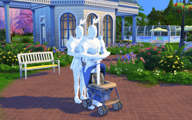 Sims 4 Stroller Pose Pack at MSQ Sims