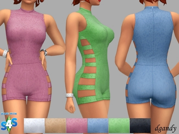 Fran jumpsuit by dgandy at TSR image 209 Sims 4 Updates