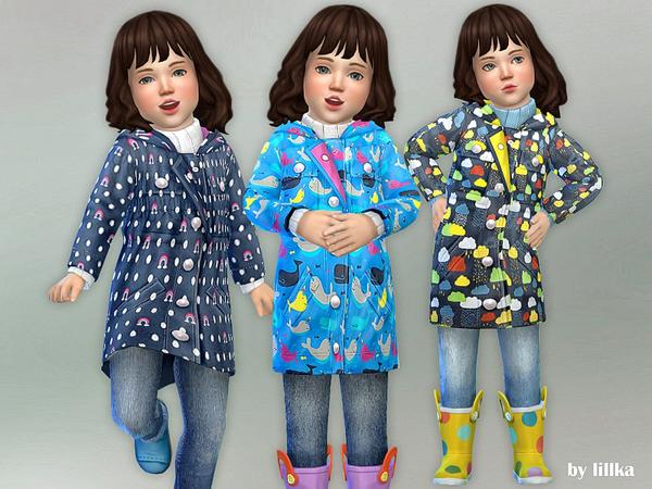 Sims 4 Toddler Winter Clothing by lillka at TSR