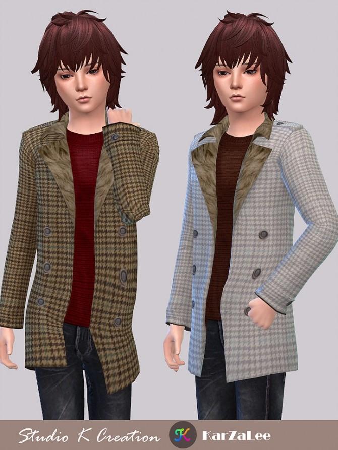 Sims 4 Casual Jackets kids at Studio K Creation