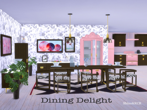 Dining Delight by ShinoKCR at TSR image 2115 Sims 4 Updates