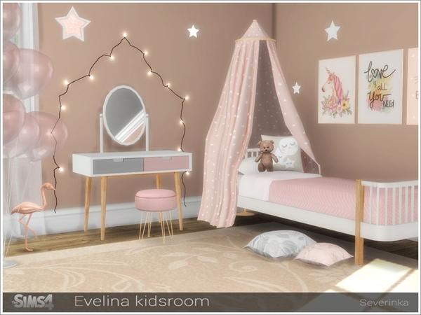 Sims 4 Evelina kidsroom by Severinka at TSR