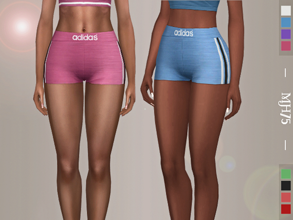 Sims 4 On A Run Shorts by Margeh 75 at TSR