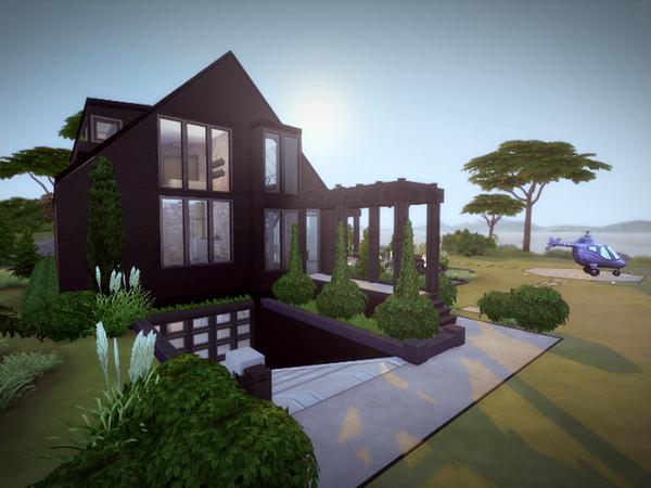 Svarta house NO CC by melcastro91 at TSR image 214 Sims 4 Updates