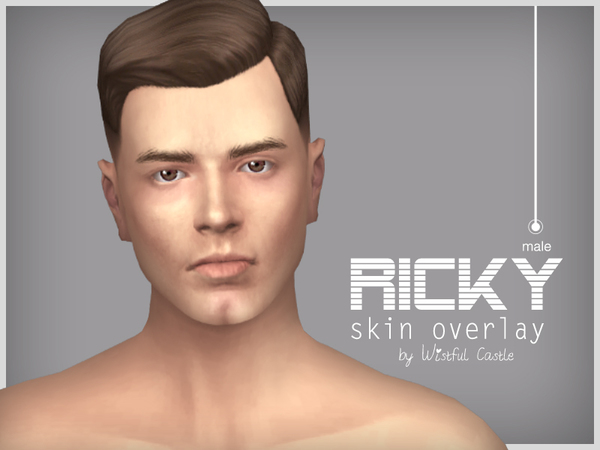 Ricky male skin overlay by WistfulCastle at TSR image 216 Sims 4 Updates
