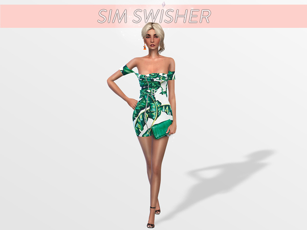 Sims 4 x3 Pack Summer Dresses by SimSwisher at TSR