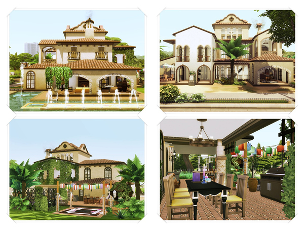 Hesta traditional home by marychabb at TSR image 220 Sims 4 Updates