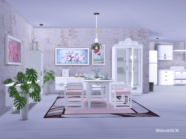 Dining Delight by ShinoKCR at TSR image 2213 Sims 4 Updates