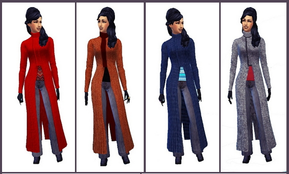 Long Coat female at Birksches Sims Blog image 2242 Sims 4 Updates