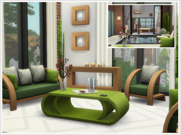 Sims 4 Mazurie house by philo at TSR
