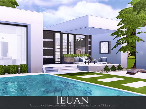 Ieuan contemporary house by Rirann at TSR image 2271 Sims 4 Updates