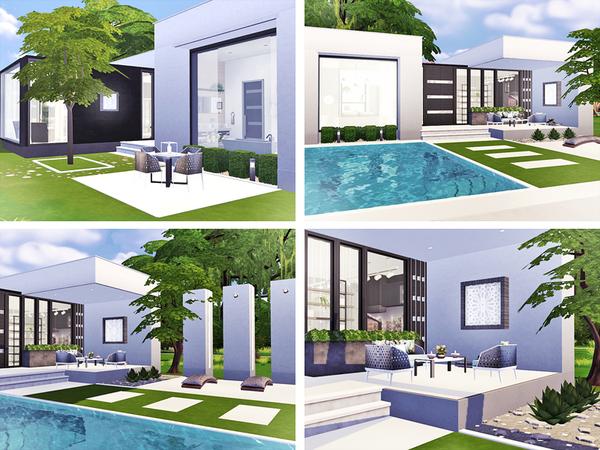 Ieuan contemporary house by Rirann at TSR image 2281 Sims 4 Updates