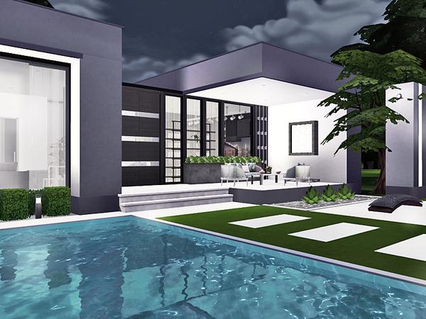 Ieuan contemporary house by Rirann at TSR image 229 Sims 4 Updates
